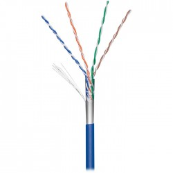93265 CAT5 PATCH FTP CABLE BLUE