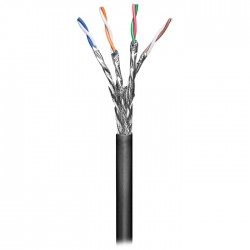 57197 CAT 6 OUTDOOR SOLID S/FTP CCA PIMF 100m