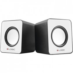 LOGIC LS-09 WHITE STEREO 2.0 SPEAKERS