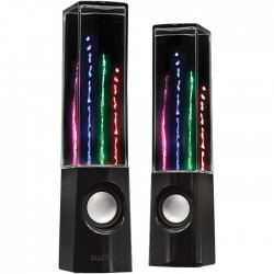 SWEEX SW20W DSPS 100BL WATER DANCING 2.0 SPEAKERS