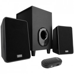 MODECOM MC-S1 SPEAKER SET 2.1 SYSTEM WITH WIRED VOLUME CONTROL