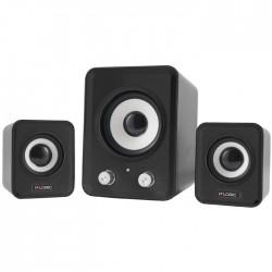 LOGIC LS-20 BLACK 2.1 SPEAKERS