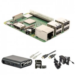 RASPBERRY Pi RP3PKIT1 3B+ Starter Kit + NOOBS Software Tool