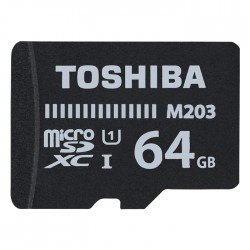 TOS MICROSDXC M203 64GB CLASS 10 UHS 1 WITH ADAPTER / THN-M203K0640EA