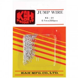 JMP-01 JUMPER WIRE 200-PACK PU 200P. KS-01