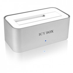 "ICY BOX IB-111StU3-Wh DOCK 2.5""&3.5"" SATA HDD USB3.0                     /20705"