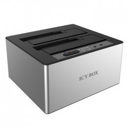 "IB-121CL-6G DOCKING AND CLONE STATION 2x2,5"" OR 2x3,5"" SATA HDD USB 3.0 J"