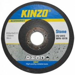 KINZO 71772 STONE DISC 125MM 8PCS