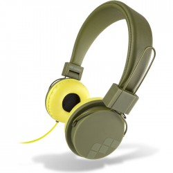 MELICONI 497390 MYSOUND SPEAK STREET MILITARY ON-EAR STEREO HEADPHONE (WITH MICR