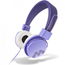 MELICONI MYSOUND SPEAK STREET PURPLE ON-EAR STEREO HEADPHONE (WITH MICROPHONE)