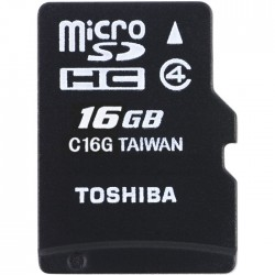 TOS MICROSD 16GB HS STANDARD WITH ADAPTER NEW/ ΤΗΝ-Μ102Κ0160Μ2