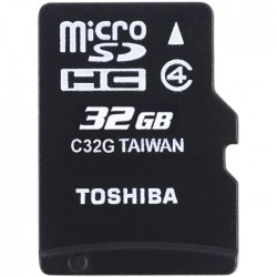 TOS MICROSD 32GB HS STANDARD WITH ADAPTER NEW / THN-M102K0320M2