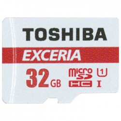 TOS MICROSD 32GB M302 EXCERIA UHS I U3 WITH ADAPTER / THN-M302R0320EA