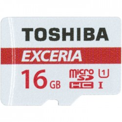 TOS MICROSD 16GB M302 UHS I U1 WITH ADAPTER / THN-M302R0160EA