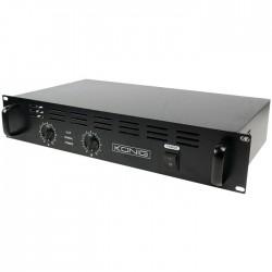PA-AMP2400-KN AMPLIFIER 2X120W