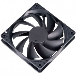 AKASA AK-174BKT-B 12CM AUTO THERMAL FAN ΜΑΥΡΟ