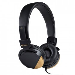 MELICONI 497456 SPEAK METAL BLACK STEREO HEADPHONE