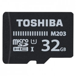 TOS MICROSDXC M203 32GB CLASS 10  UHS 1 WITH ADAPTER /THN-M203K0320EA