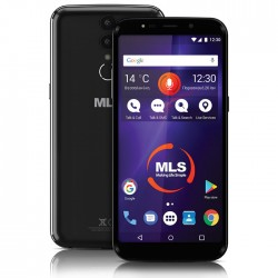 MLS MX PLUS 4G BLACK DUAL SIM 33.ML.530.309