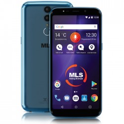 MLS MX PLUS 4G BLUE DUAL SIM 33.ML.530.310