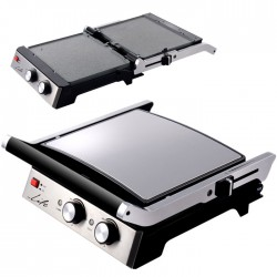 LIFE CG-101  Contact grill with reversible marble plates grill/ griddle 2000W