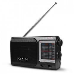 KCHIBO KK-8120 BAND RADIO AC/DC BLACK