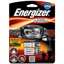 ENERGIZER 3LED HEADLIGHT & 3xAAA