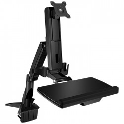 ICY BOX IB-MS600-T DESK MOUNTED SIT-STAND WORKSTATION DISPLAY UP TO 24  (61cm)