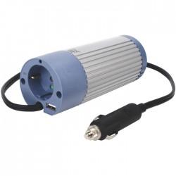 HQ-INV100U-24 INVERTER+USB 100W 24VDC->230VAC