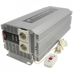HQ-INVERTER 2500W/12V  TO 230V