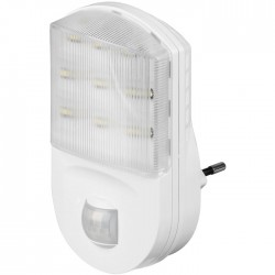 96500 LED NIGHT LIGHT WITH INFRARED MOTION SENSOR