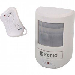 SAS-APR 20 Motion detector with alarm 130 dB