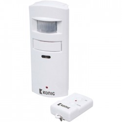 SAS-APR 10 Motion detector with alarm 130 dB