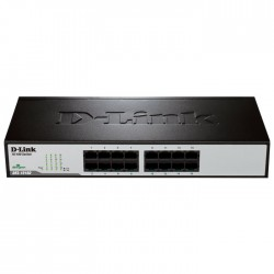 D-LINK DES-1016D GIGABIT ETHERNET 16-PORT SWITCH (RACKMOUNT)