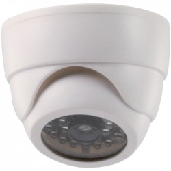 SAS-DUMMY CAM 60 indoor dome camera IR flashing LED