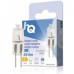 LAMP HQH G4 CAPS 001 Halogen lamp capsule G4 5 W 35 lm 2800K