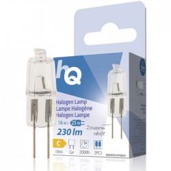 LAMP HQH G4 CAPS 003 Halogen lamp capsule G4 16 W 230 lm 2800K