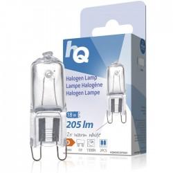 LAMP HQH G9 CAPS 001 Halogen lamp capsule G9 18 W 205 lm 2800K