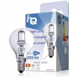LAMP HQH E14 BALL 001 Halogen lamp ball E14 18 W 205 lm 2800K