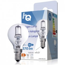 LAMP HQH E14 BALL 002 Halogen lamp ball E14 28 W 370 lm 2800K
