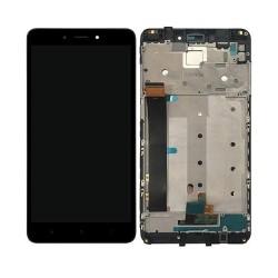 XIAOMI Redmi Note 4 ( MTK ) - Οθόνη LCD με Frame και Touch Black Συμβατή