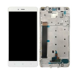XIAOMI Redmi Note 4 ( MTK ) - Οθόνη LCD με Frame και Touch White Συμβατή
