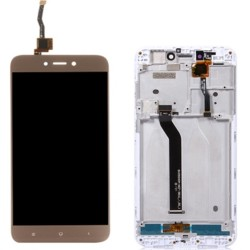 XIAOMI Redmi 5A - Οθόνη LCD με Frame και Touch Gold Συμβατή