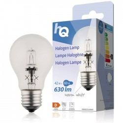 LAMP HQH E27 CLAS 003 Halogen lamp classic GLS E27 42 W 630 lm 2800K