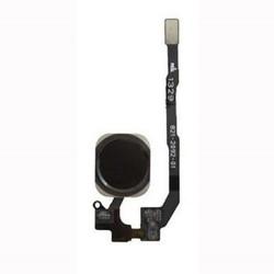 APPLE iPhone 5S/SE - Καλωδιοταινία - Home Button Flex-Cable χωρίς finger print sensor function Black Συμβατή
