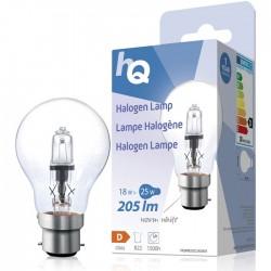 LAMP HQH B22 CLAS 001 Halogen lamp classic GLS B22 18 W 205 lm 2800K