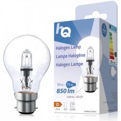 LAMP HQH B22 CLAS 004 Halogen lamp classic GLS B22 53W 850 lm 2800K