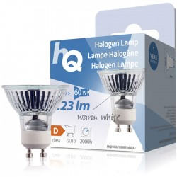 LAMP HQH GU10 MR16002 Halogen lamp MR16 GU10 42 W 223lm 2800K