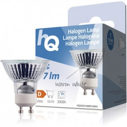 LAMP HQH GU10 MR16003 Halogen lamp MR16 GU10 20 W 77lm 2800K