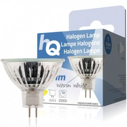 LAMP HQH GU53 MR16002 Halogen lamp MR16 GU5.3 50 W 673 lm 2800K